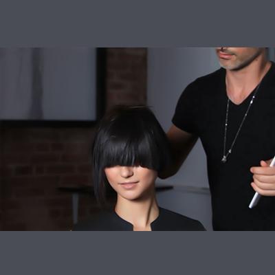 Great Bangs Haircut and HairColor New York City Soho