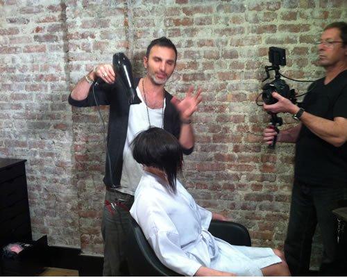 New York City Soho Hair Stylist Salon Academy
